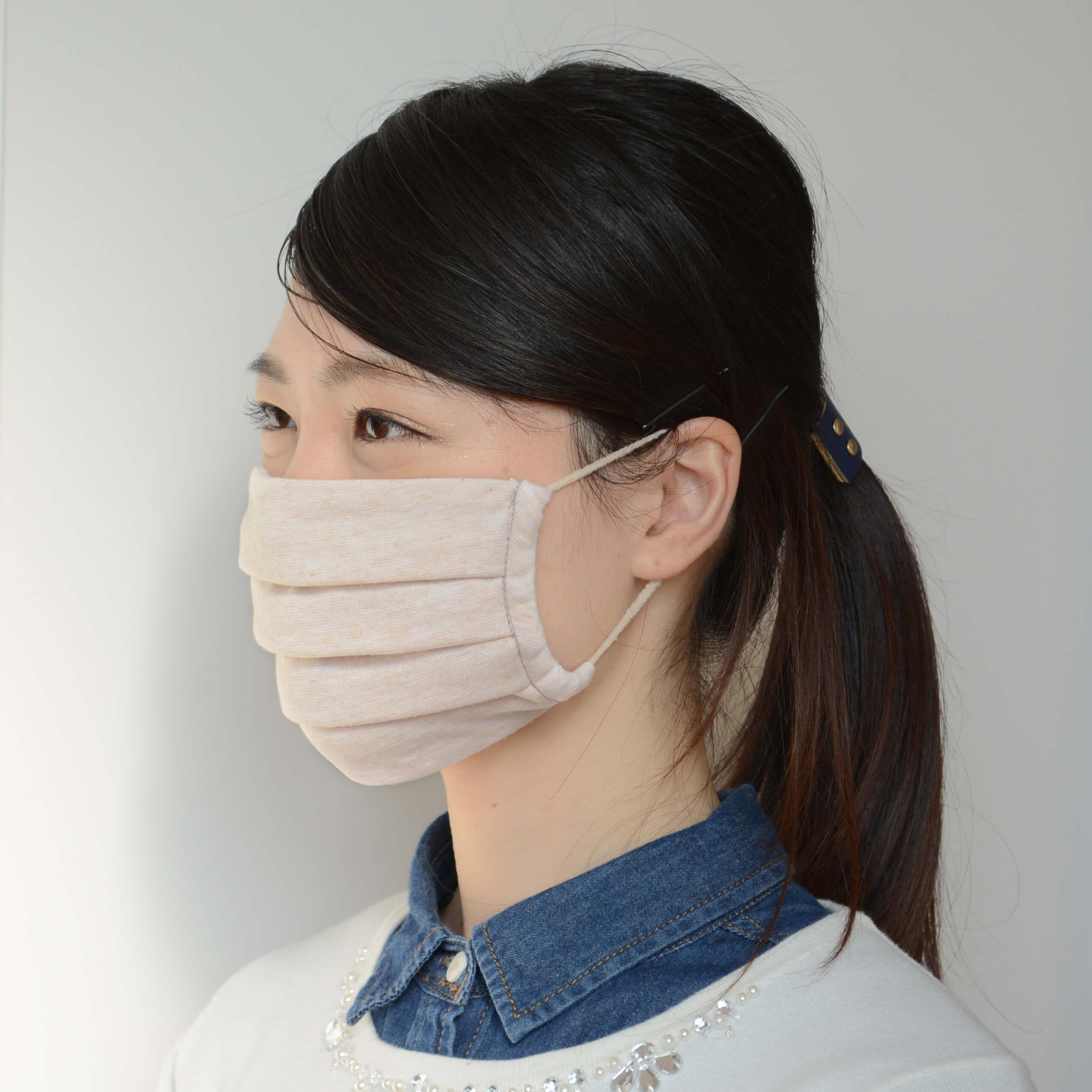 消臭・抗菌もできて敏感肌にも優しいマスク