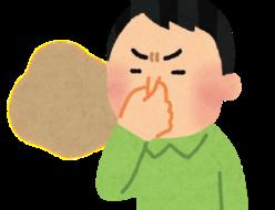 臭いポーズ