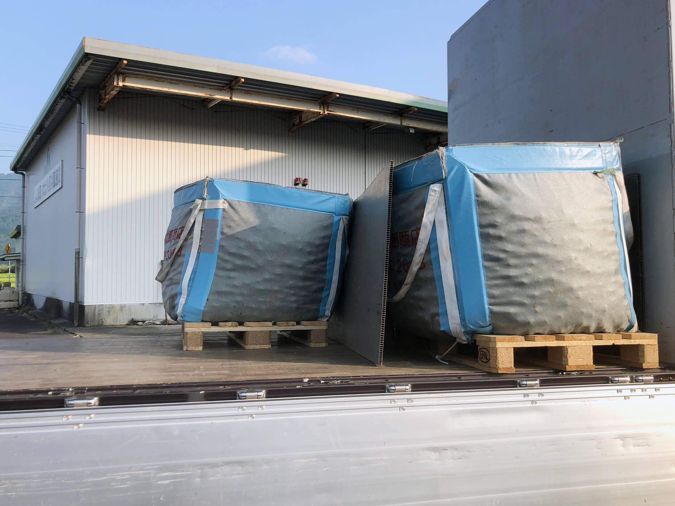 運搬用のコンテナ袋